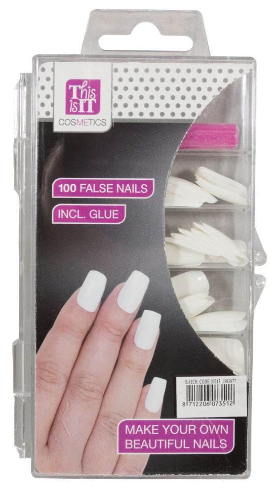 kunstige negle med lim