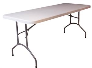 Klap sammen bord silvan – Skrivebord til højseng